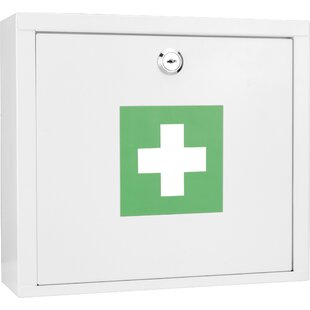 """10.63"""" W x 9.45"""" H Wall Mounted Cabinet by"""