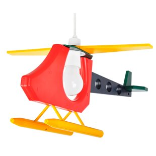 Helicopter Plastic Novelty Pendant Shade by MiniSun