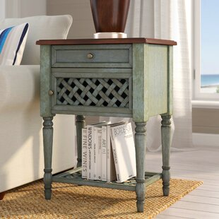 Freistatt End Table by Highland Dunes