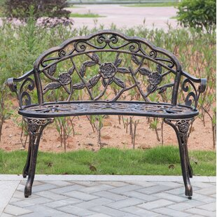 Stratton Steel Garden Bench
