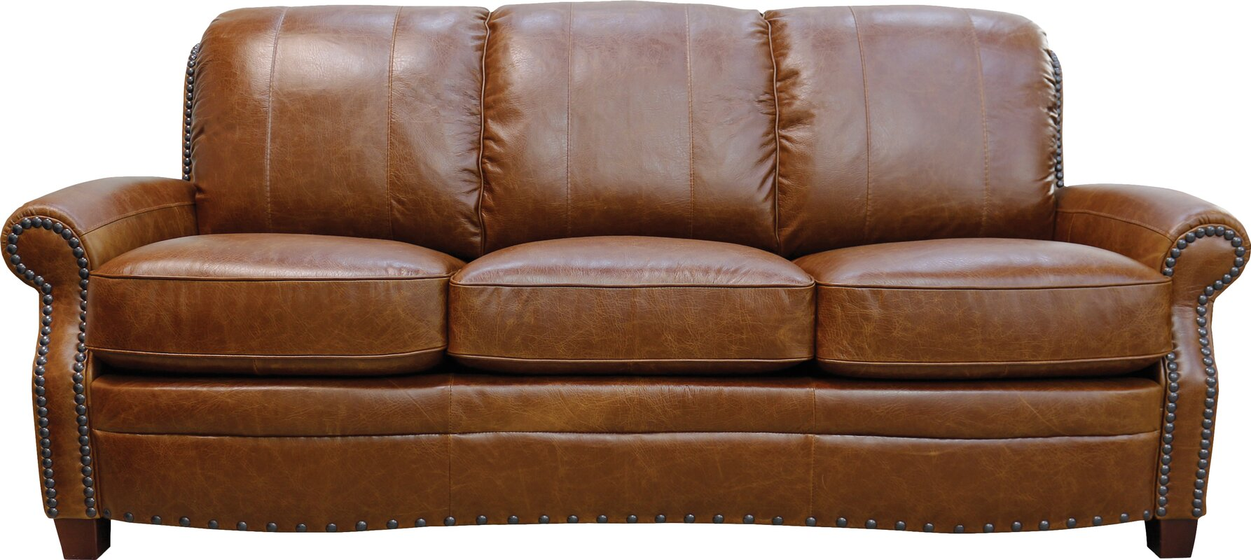 Luke Leather Ashton Leather Sofa & Reviews