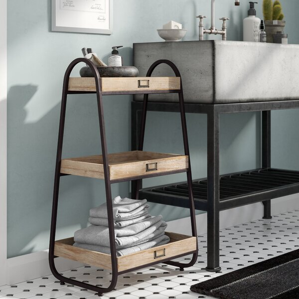 Home & Garden Sweet-Tempered Bathroom Organizer Shelf Storage Rack Dresser Table Top Multi-funtion Cosmetic Soap Shelf With Drawer Storage Holders & Racks