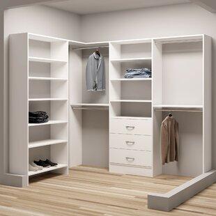 Read Reviews Demure Design 67W - 93W Closet System ByTidySquares Inc.