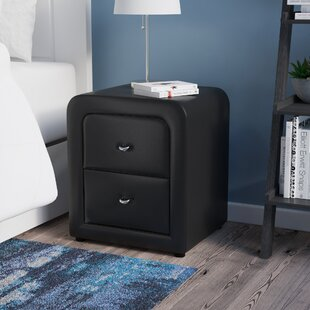 Best Deals Melillo 2 Drawer Nightstand by Latitude Run
