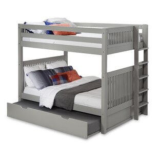 Reviews Oakwood Full Over Full Bunk Bed with Trundle by Harriet Bee Reviews (2019) & Buyer's Guide