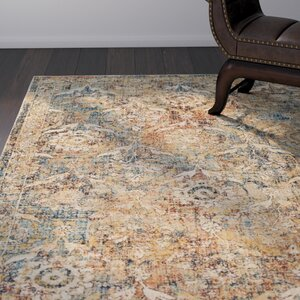 Cassie Burnt Orange/Saffron Area Rug