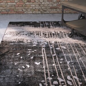 Pierce Charcoal Area Rug