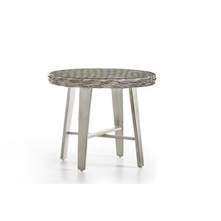Cape Lookout Wicker Side Table