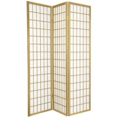 Bungalow Rose Leiva Room Divider Color: Gold, Number of Panels: 3