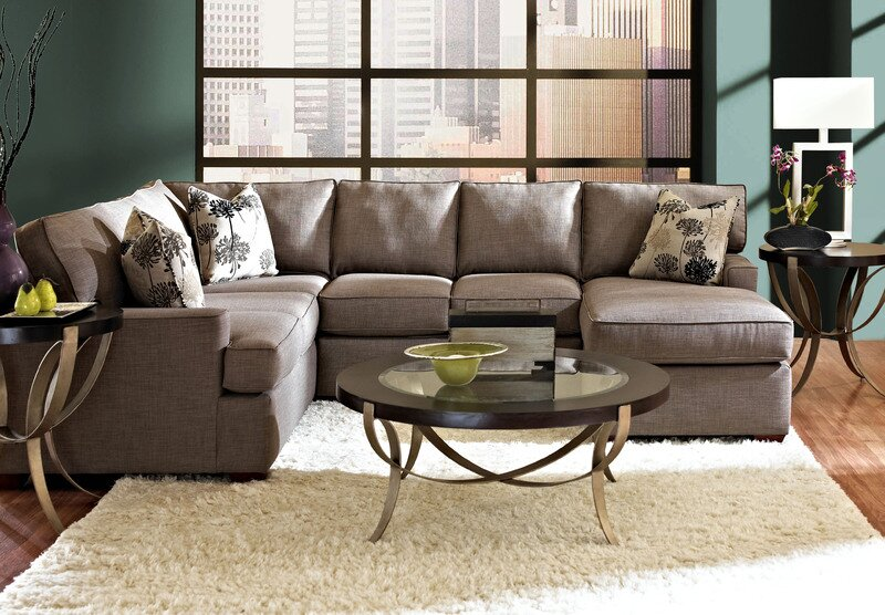 Klaussner Furniture Millers Sectional & Reviews
