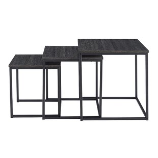 Provenzano 3 Piece Nesting Tables Ebern Designs