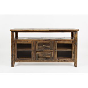 Borg Wooden Storage Console with Spacious Storage by Loon Peak