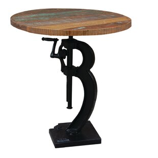 Adjustable Height Pub Table Yosemite Home Decor