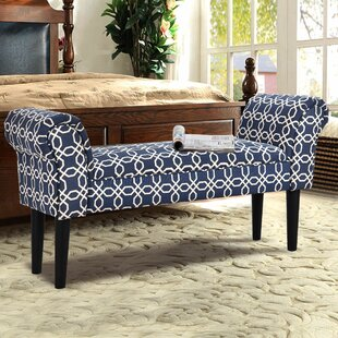 Lorena Upholstered Bench by Charlton Home