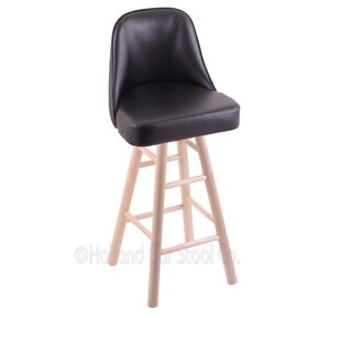 Eversole Swivel Bar Stool Winston Porter
