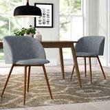Corinne Velvet Upholstered Arm Chair (Set of 2) by AllModern