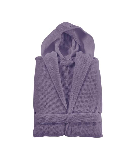 KIDS Hooded Waffle Bathrobe Lilac Lavender NEW Spa Pool Great Gift Party