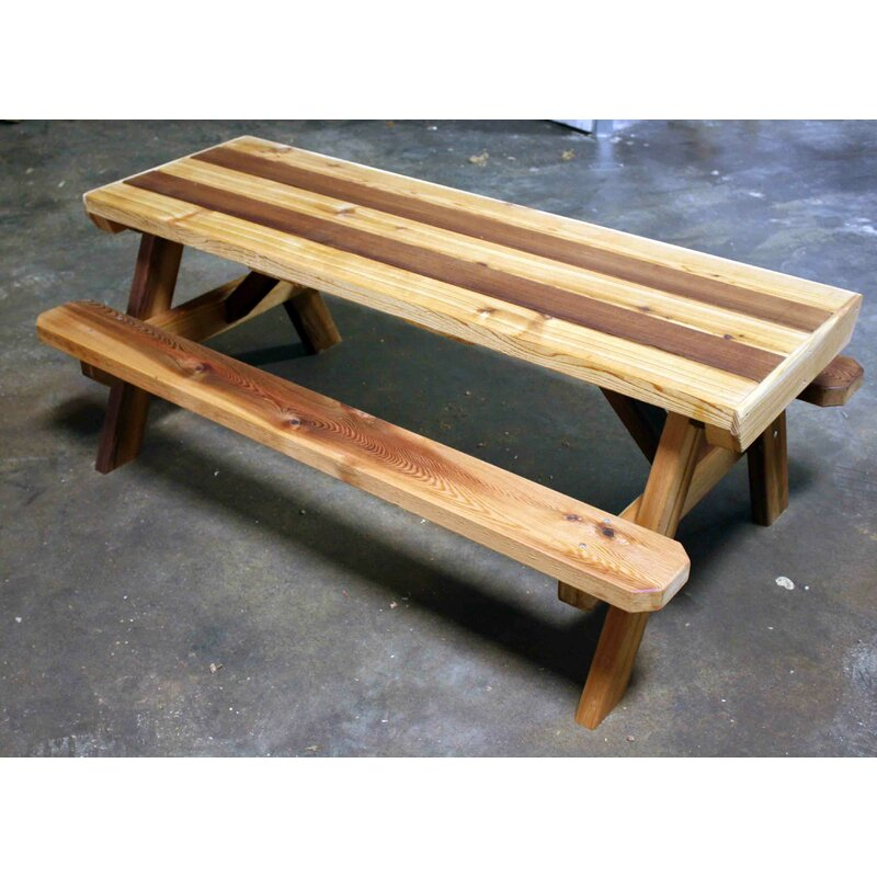CedarCreekWoodshop Kidsu0027 Picnic Table | Wayfair