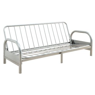 Adjustable Metal Futon Frame With Armrests