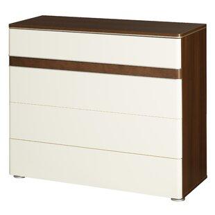 Andrzejewski 4 Drawer Standard Dresser