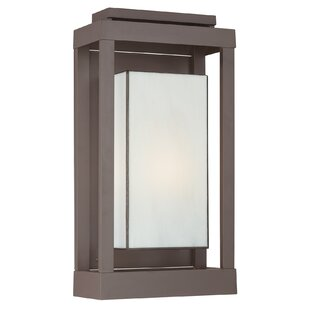 Wilcoxon Modern 1-Light Outdoor Flush Mount