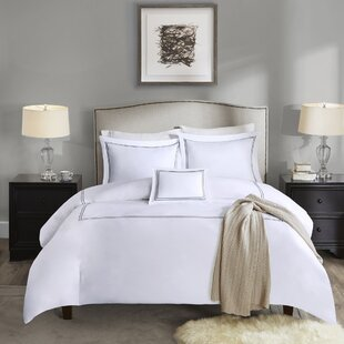 Caruso 4 Piece Duvet Cover Set by The Twillery Co. New
