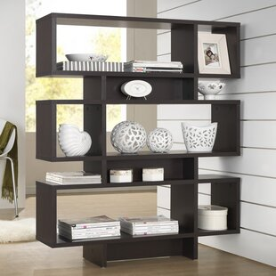 Cade 6-Level Geometric Bookcase