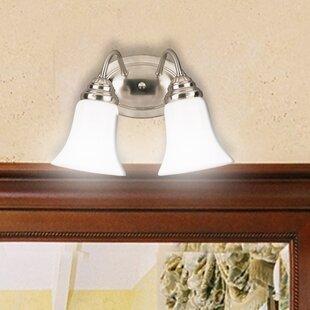 Reviews Parkton 2-Light Vanity Light (Set of 2) By Breakwater Bay