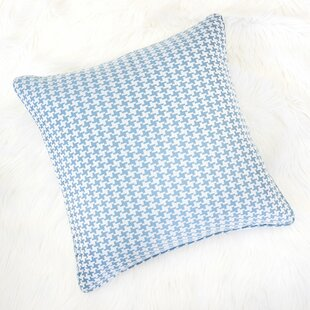 Jessamine Houndstooth Throw Pillow