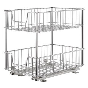 Ordinaire 2 Tier Wire Drawer With Slides