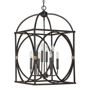 Keene 8-Light Foyer Pendant