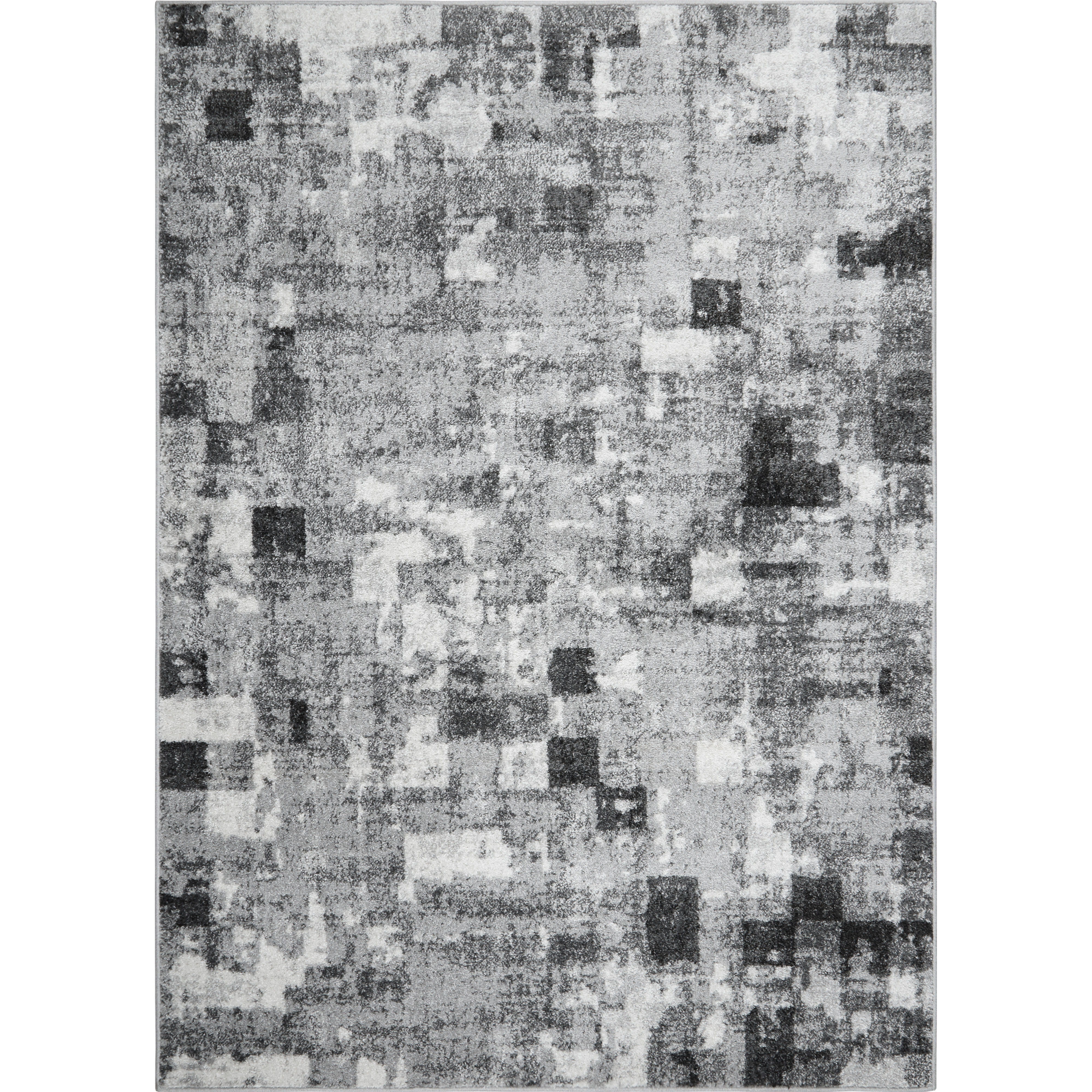 Ebern Designs Carshalt Abstract Gray Area Rug Reviews Wayfair
