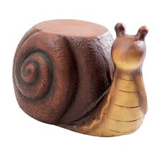 Vaishnavi Snail Garden Stool by World Menagerie