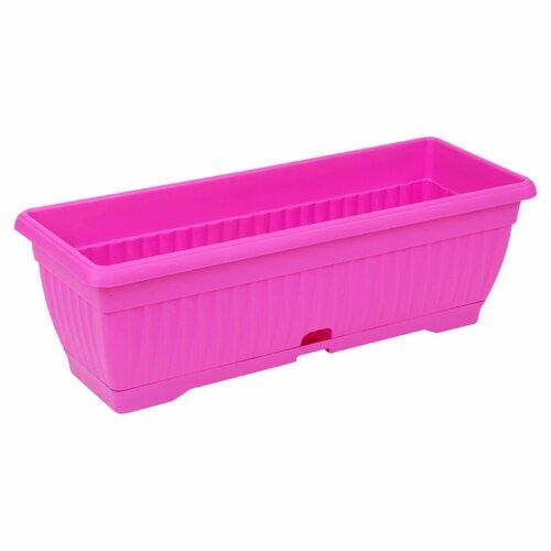 Elvis Plastic Planter Box Freeport Park Colour: Pink