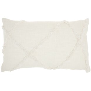 Remi Cotton Lumbar Pillow Cover & Insert