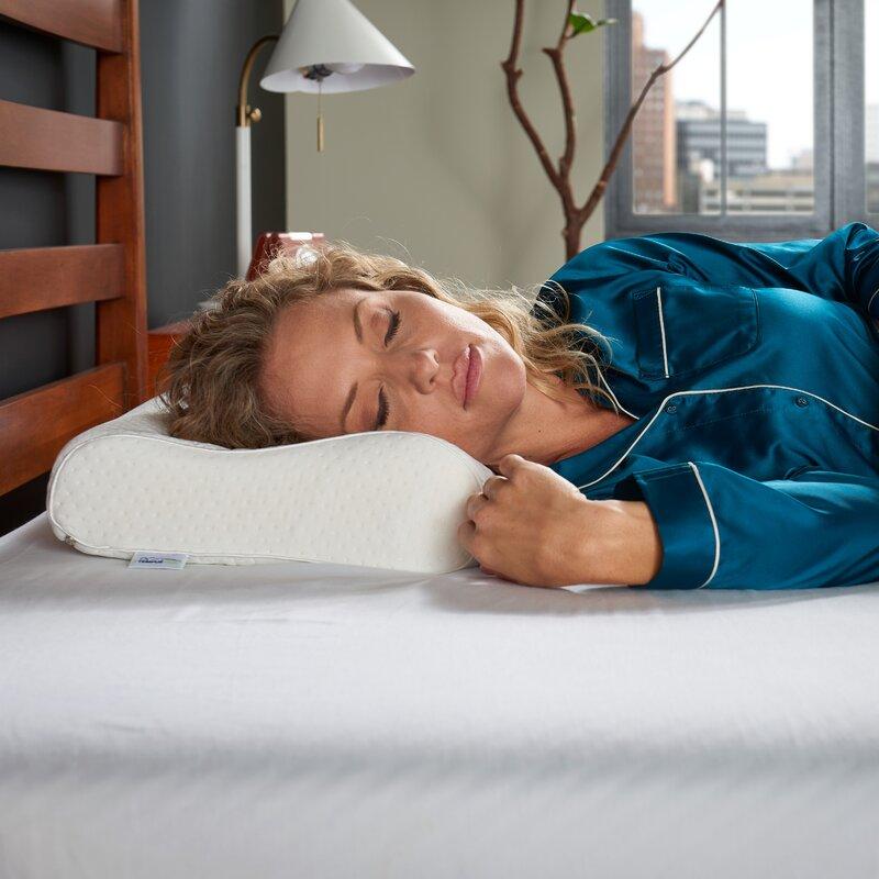 tempur ergo neck firm foam bed pillow