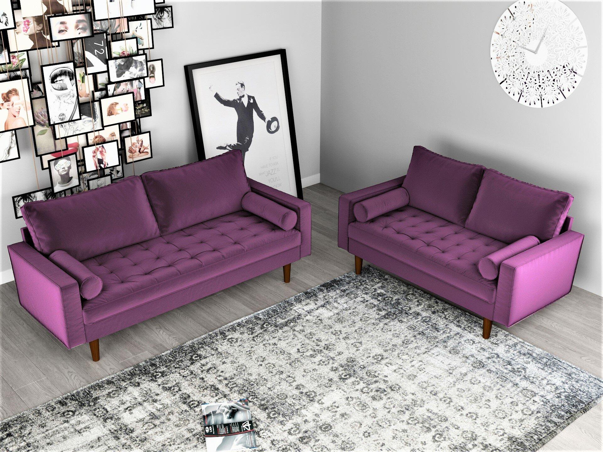 Mac 2 piece living room set reviews allmodern