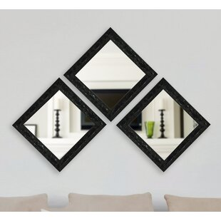 3 Piece Odyssey Mirror Set by Astoria Grand