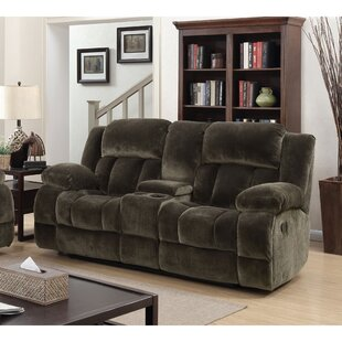 Shamavi Transitional Reclining Loveseat