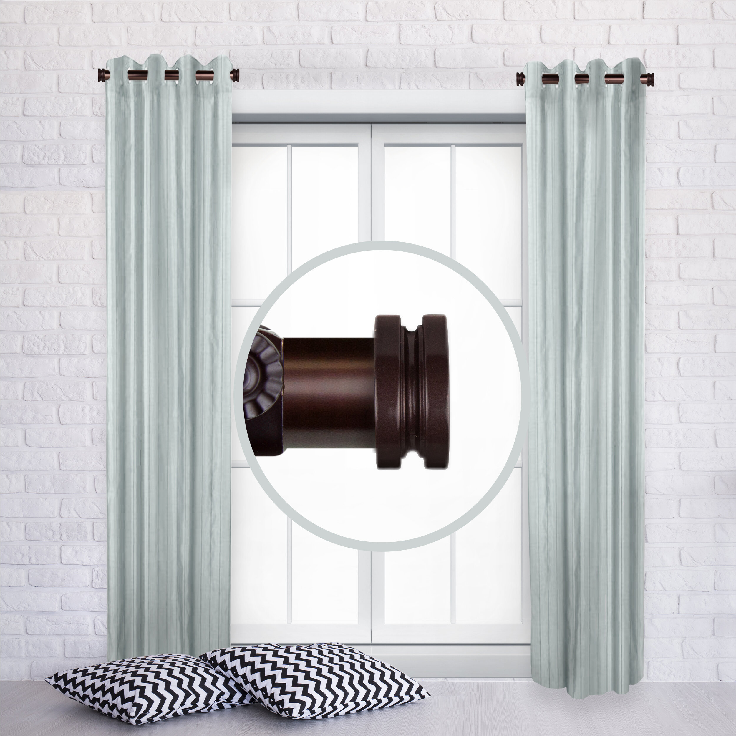 Solid Rod Curtain Hardware Accessories You Ll Love In 2021 Wayfair