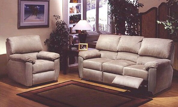 Omnia Leather Vercelli Reclining Leather Living Room Set Reviews