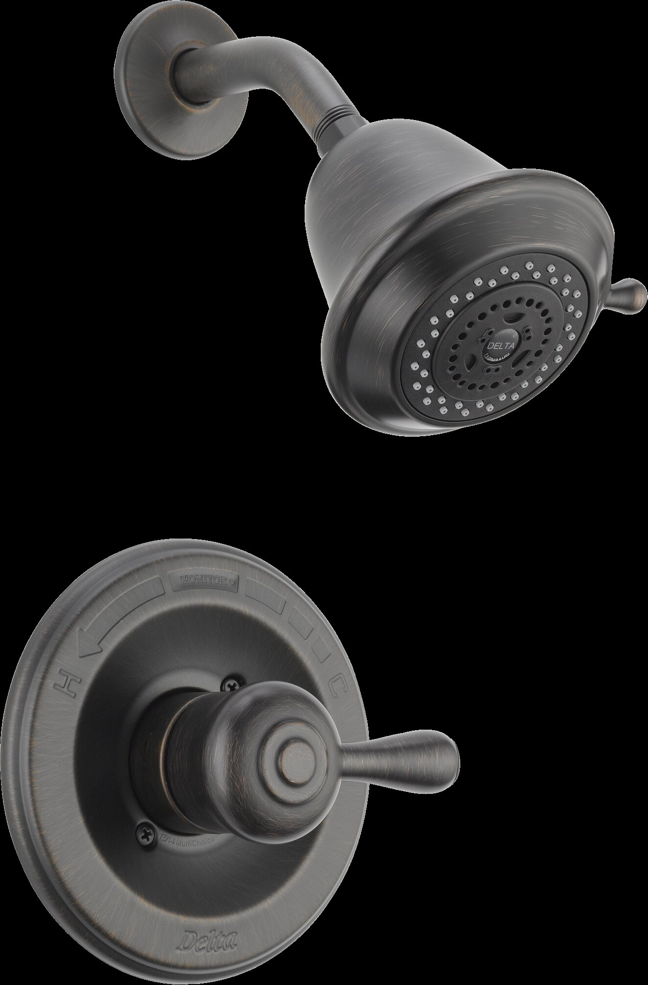 Delta Leland Monitor® Shower Faucet Trim & Reviews | Wayfair