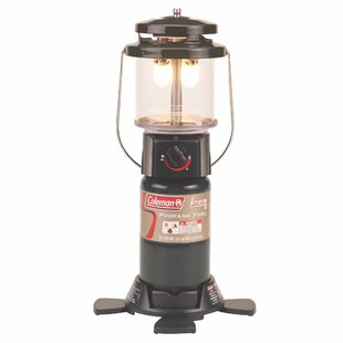 Great Price Deluxe PerfectFlow 2-Mantle Propane 1-Light Pier Mount Light By Coleman