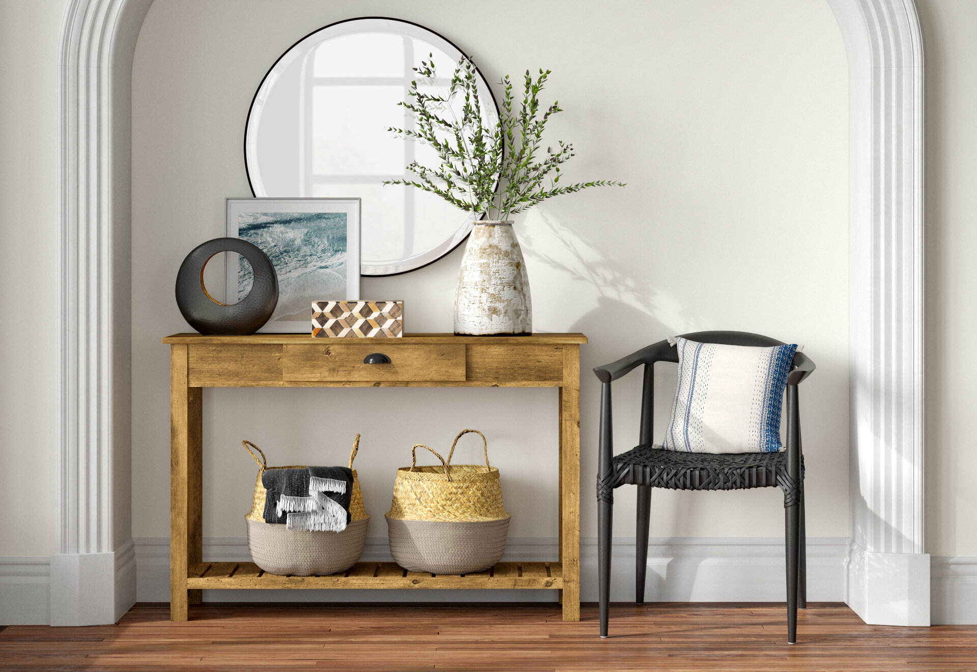 Picture of: 6 Ways To Style Your Console Table Joss Main