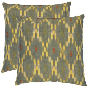 Taylor Cotton Throw Pillow (Set of 2)