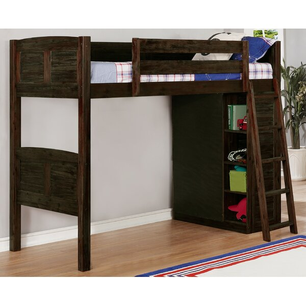 Loft Game Room Ideas: Birch Lane™ Heritage Ilario Twin Loft Bed With Drawers And