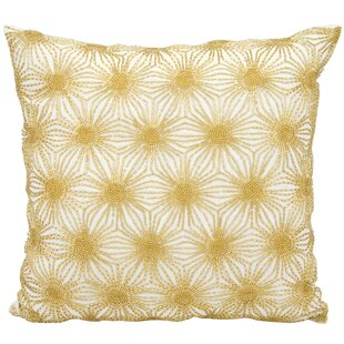 Gehlen Beaded Sun Stars Throw Pillow