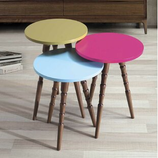 Shirly End Table Set (Set of 3) by Latitude Run