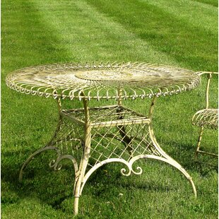 Genola Large Round Iron Dining Table