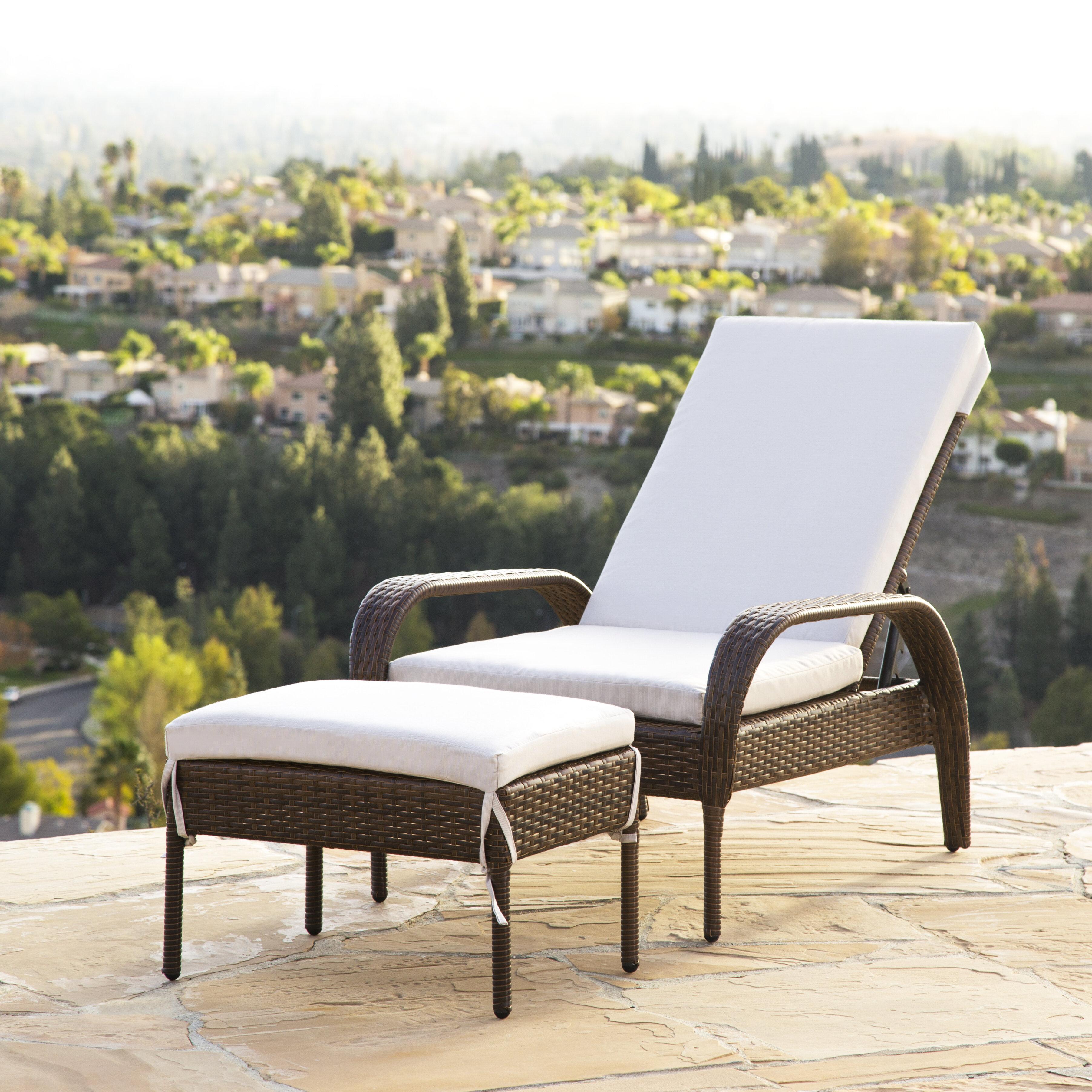 Wade logan banker patio chair with cushion reviews wayfair